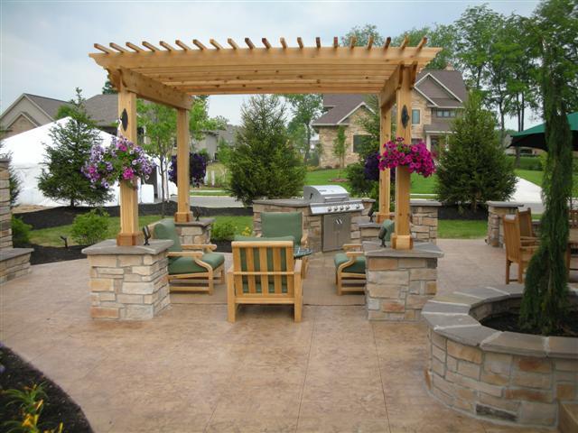 featured project custom outdoor patio aurora custom homes